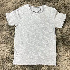 Manguun Boy's T-shirt | Light Blue | Suttle Stripe